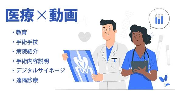 医療✕動画