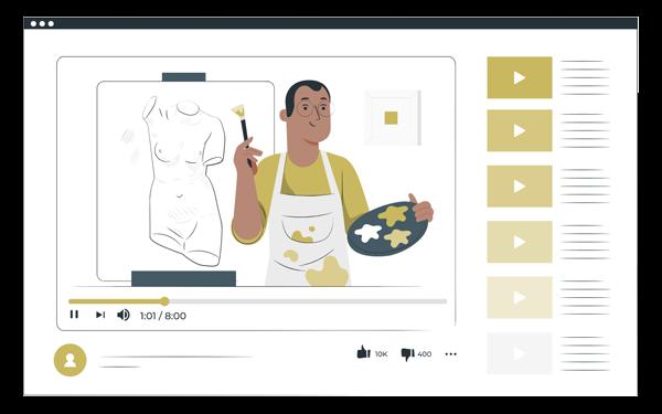 BtoBオンラインマーケティングにおける主な動画活用シーン